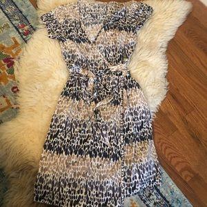 Loft faux-wrap style dress
